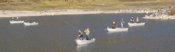 Pêche à la mouche au Lac de Barouchat