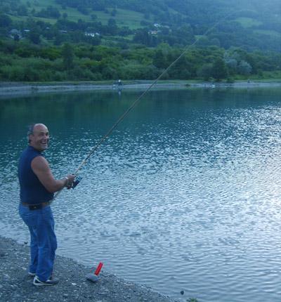 Pietro... un pêcheur heureux
