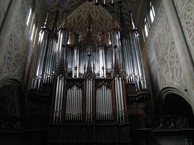 Orgue de la cathédrale de Chambéry