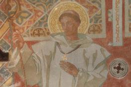 Peinture murale église N.D. de Myans