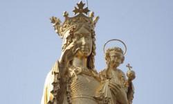 vierge dorée de Myans