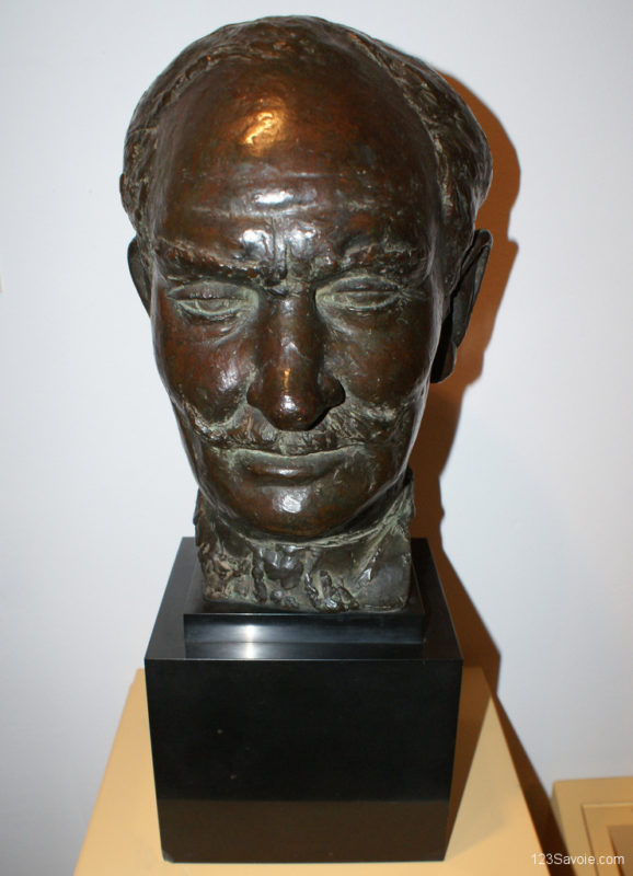 Buste de Mars-Vallett, 1929 (exécuté en 1931) par Joseph Antoine Bernard