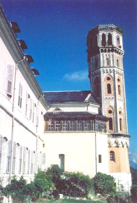 Détail de l'Abbaye de Hautecombe