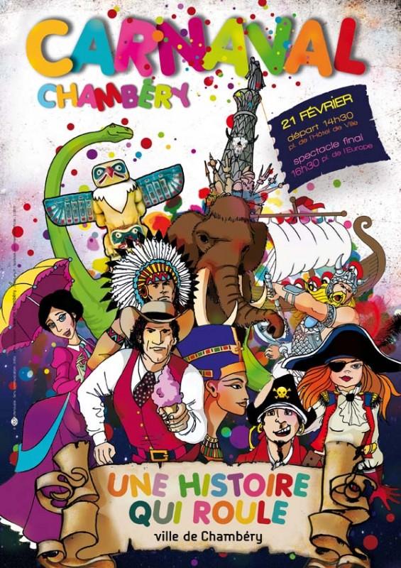 Affiche Carnaval de Chambéry 2015