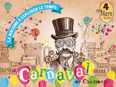 affiche Chambéry fait son carnaval