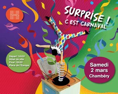 Affiche Carnaval Chambéry 2019