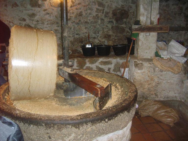 Le moulin à huile de Chanaz