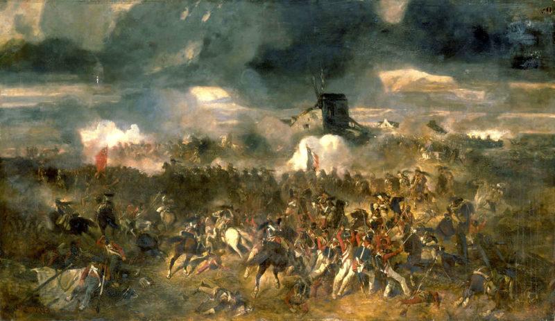 La bataille de Waterloo - Clément-Auguste Andrieux (1829–1880)