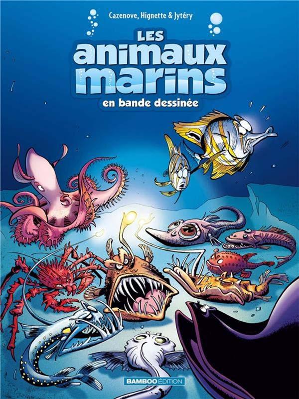 Les animaux marins en BD tome 6