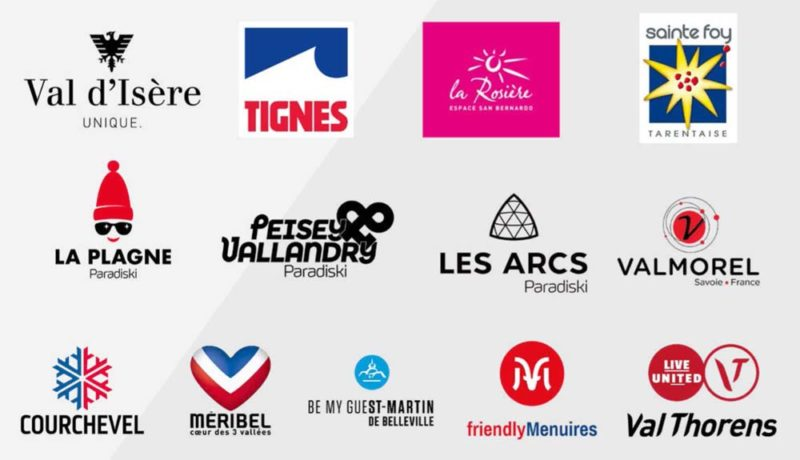 Logos Stations de Tarentaise