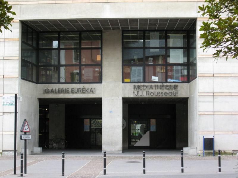 Médiathèque J-J Rousseau - © 123 Savoie