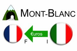 Tarifs tunnel du Mont-Blanc - Italie