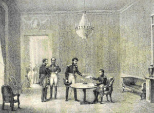 Abdication de Napoléon 1er à Fontainebleau