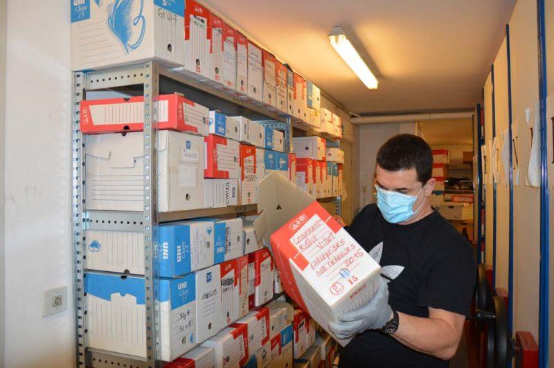 Elimination des archives de la Motte-Servolex