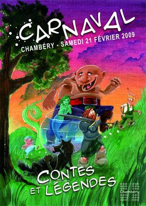 Affiche carnaval Chambéry 2009