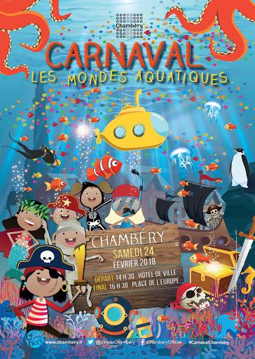 Affiche carnaval Chambéry 2018