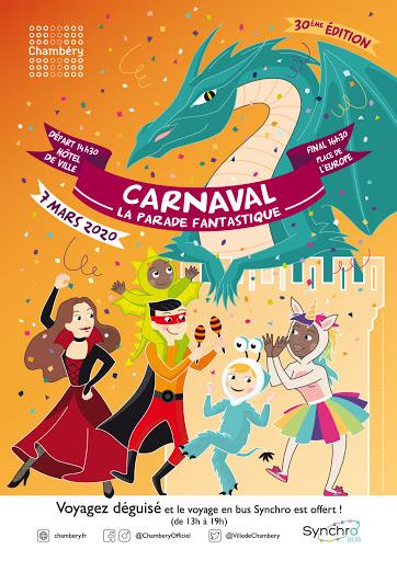 Affiche carnaval Chambéry 2020