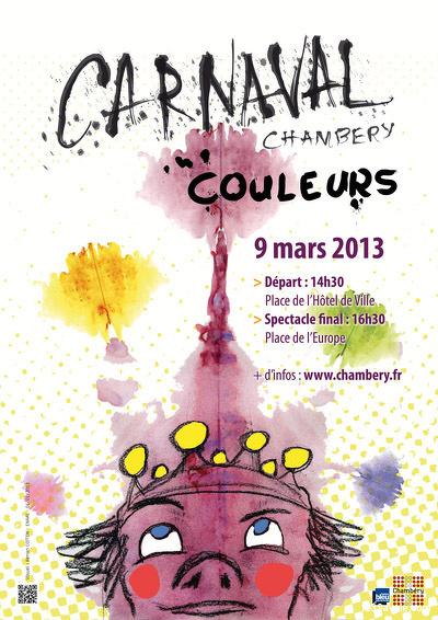Affiche Carnaval Chambéry 2013