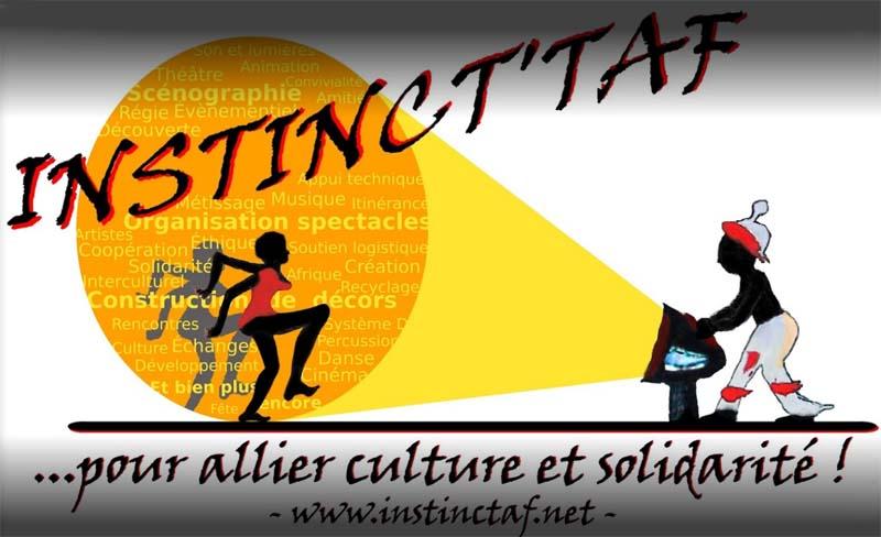 Logo Association Instinct'taf