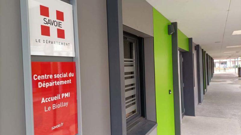 Visite inaugurale du Centre social du Département du Biollay à Chambéry