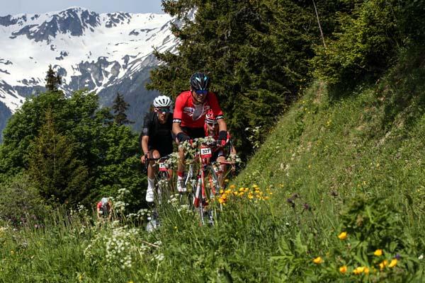 Megève cycling